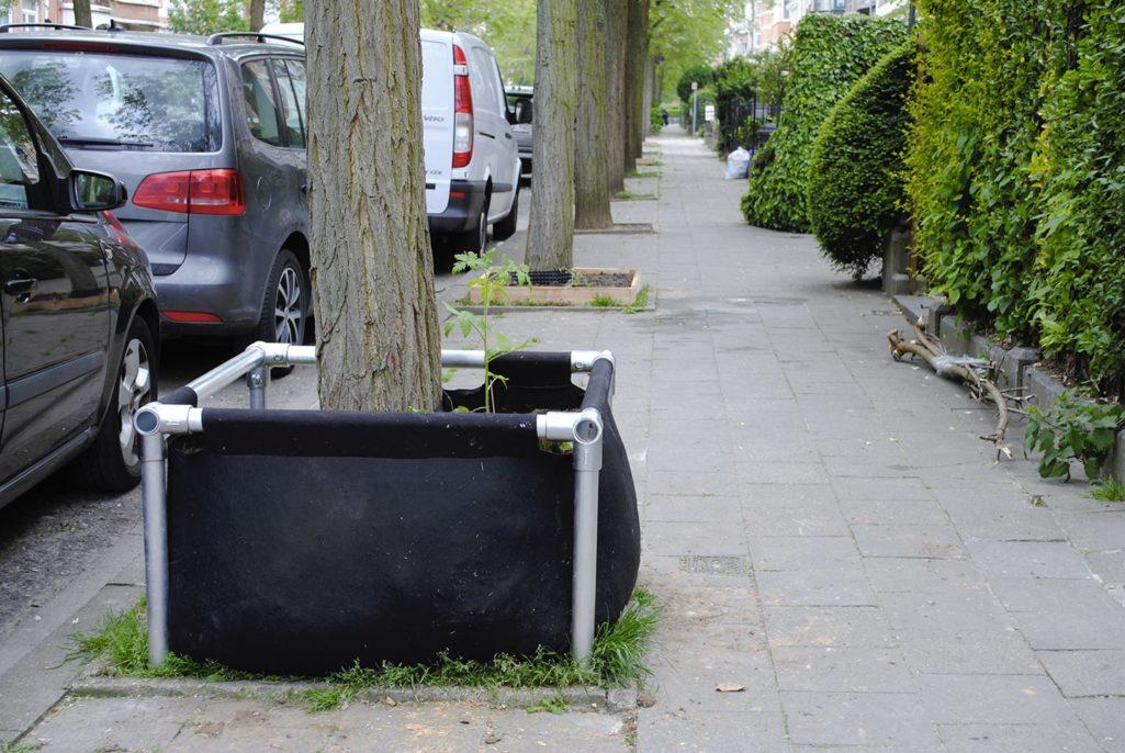 Bac végétal protype urbain
