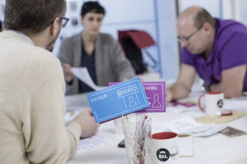 workshop collaboratif pour définir les besoins des employés