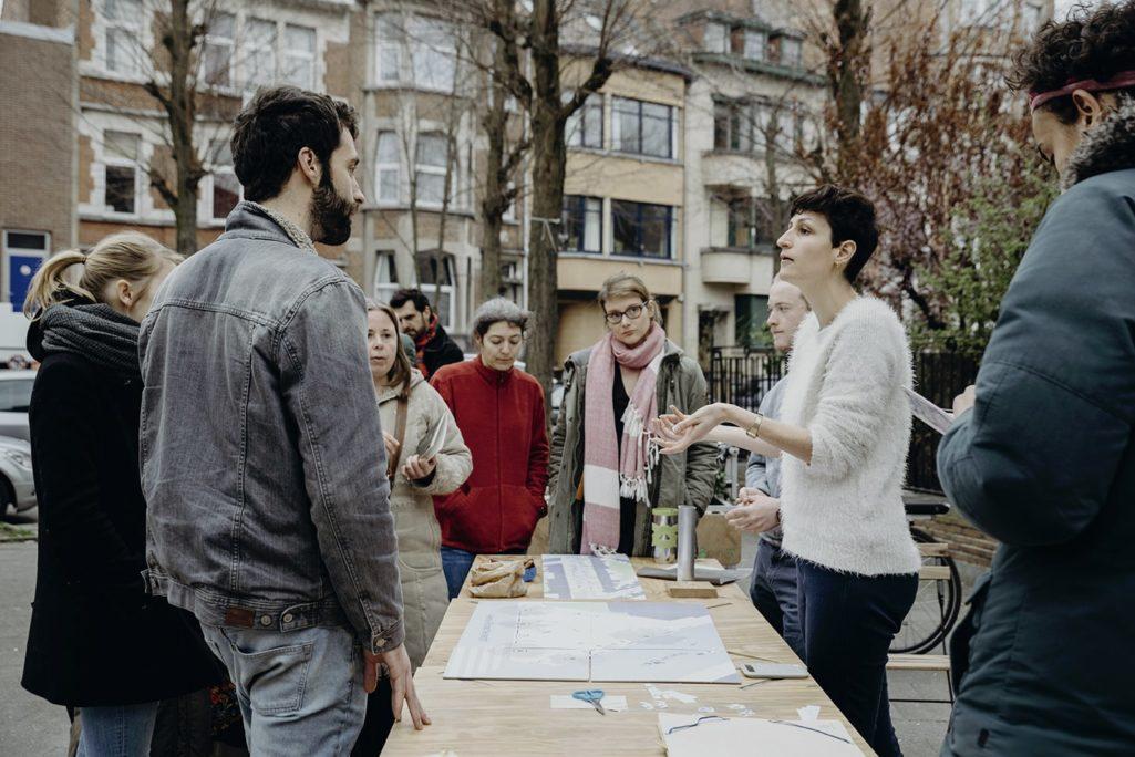 Morgane Hallé anime la participation à Bockstael