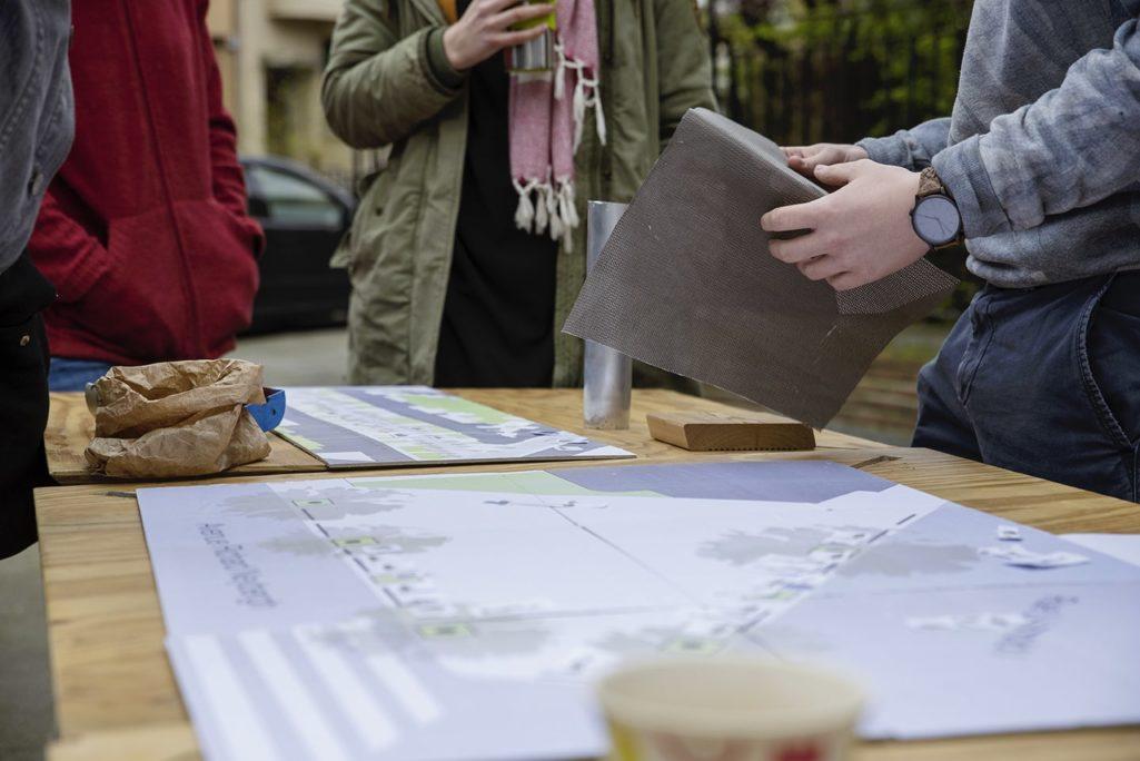 Montrer le projet de mobilier urbain