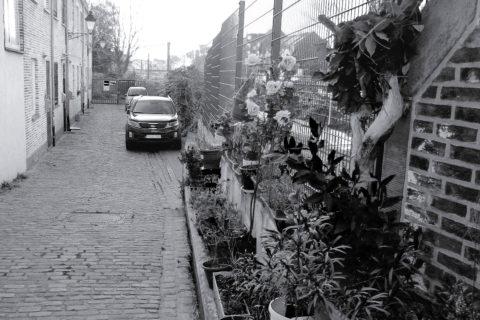 impasse à ré-aménager à Laeken