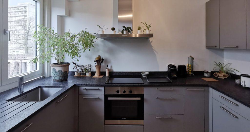 cuisine en U installée à Watermael-Boitsfort